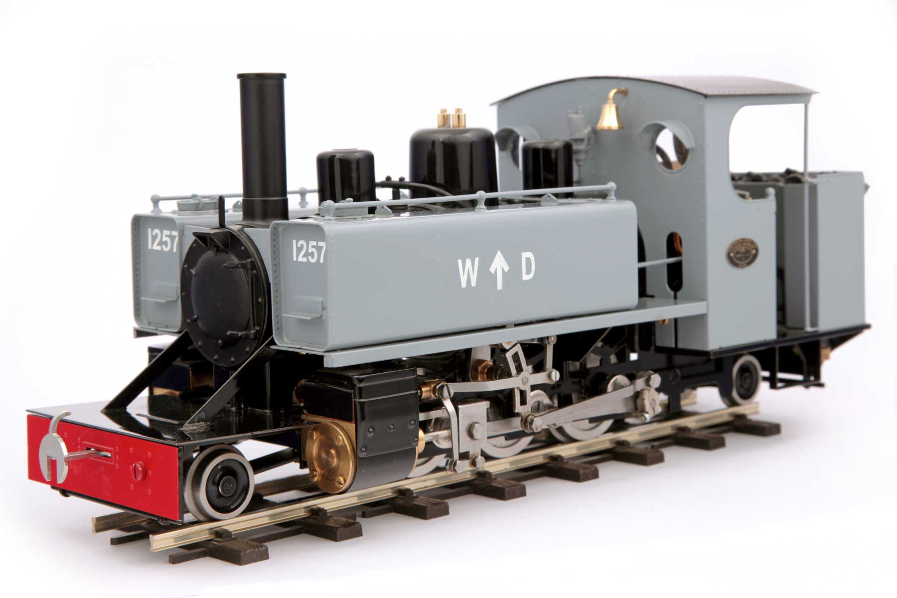 Shown here with optional 'WD' and '1257' markings