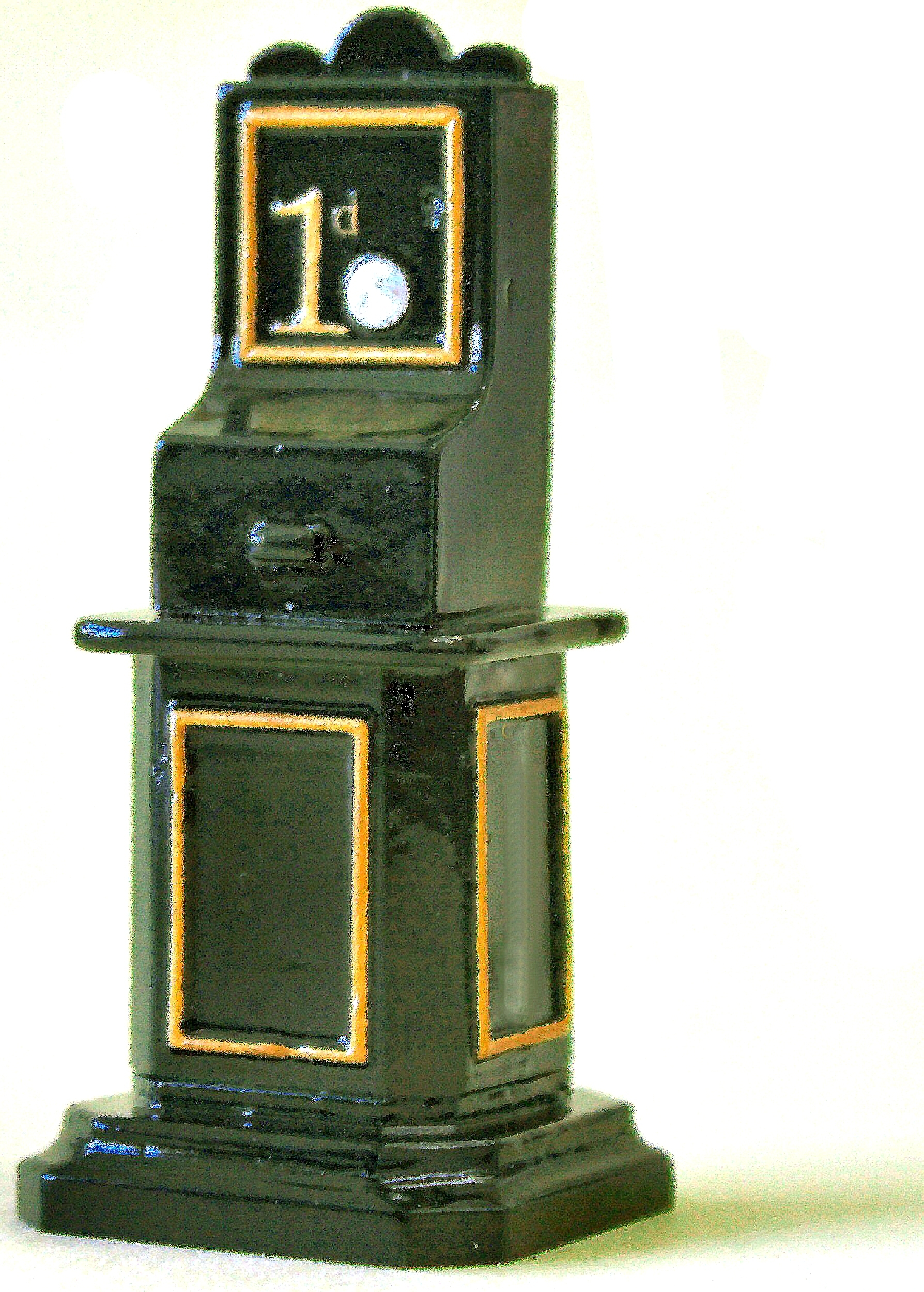 Cast ticket machine