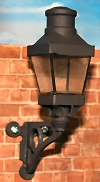 Wall gas lamp kit
